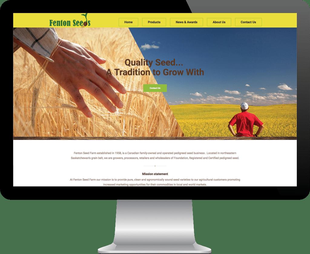 Fenton Seeds Tisdale / Web Designer Portfolio